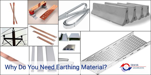 Earthing Materials Galvanizers
