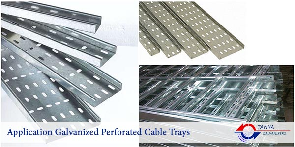 Application Galvanized Perforated Cable Trays