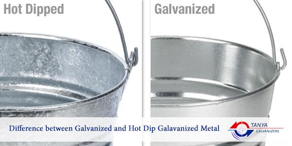 Difference between Galvanized VS Hot Dip Galvanized Metal